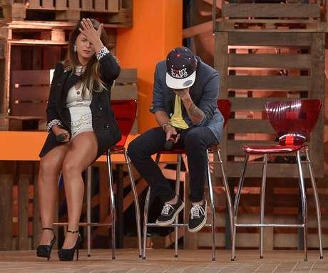 <p>Babi Rossi e DH disputaram com Heloísa a final da 'Fazenda 7'</p>