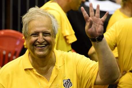 <p>Modesto Roma é o novo presidente do Santos</p>