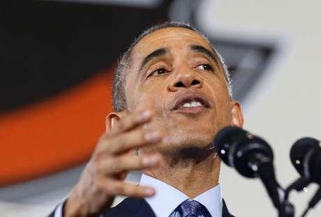 Presidente dos EUA Barack Obama faz discurso em Nova Jersey. 15/12/2014.