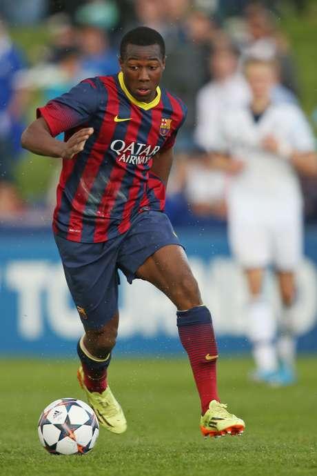 Adama fez gol no massacre do Barcelona por 8 a 1 na Copa do Rei