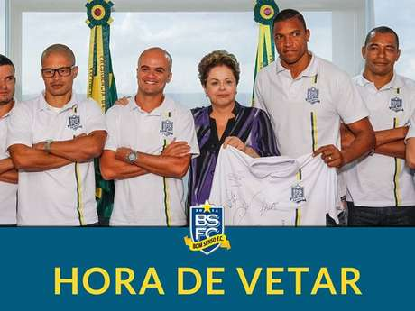 <p>Bom Senso FC é a favor do veto presidencial de Dilma Rousseff à MP que facilita o financiamento das dívidas</p>