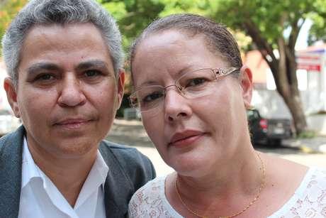 """Carmen e Cláudia agora têm """"Poderoso"""" no nome de casadas"""
