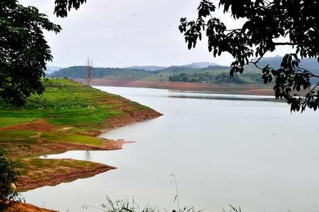 <p>Vista do sistema Cantareira no Vale do Para&iacute;ba em Jacare&iacute;, SP</p>