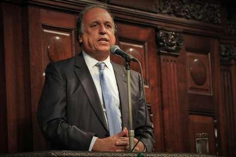 """<p>""""Nunca tive problema nenhum com a Justiça"""", afirmou Luiz Fernando Pezão</p>"""