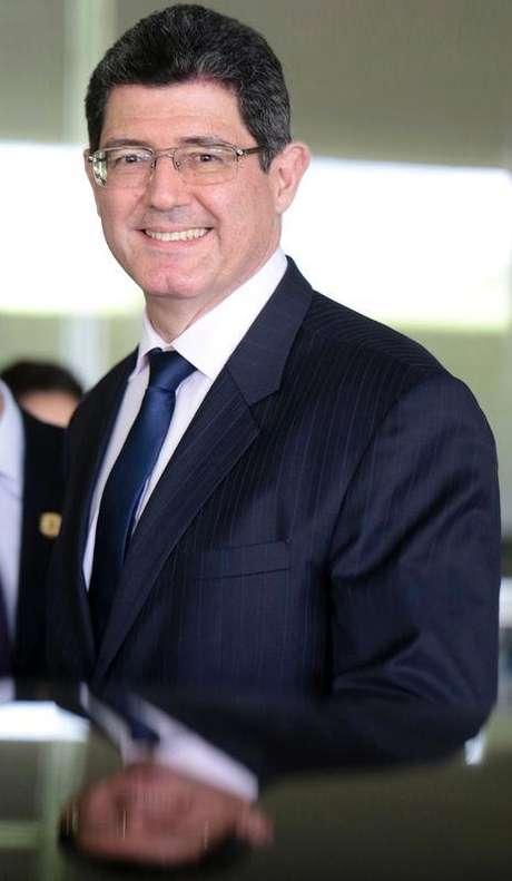 <p>Ministro da Fazenda, Joaquim Levy</p>