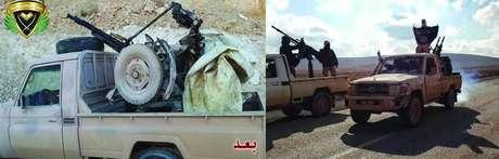 Agentes do grupo terrorista Estado Islâmico estariam escondidos nas montanhas Qalamoun