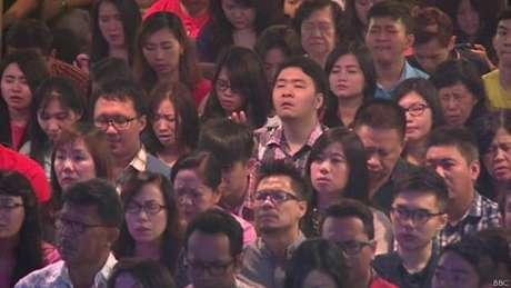 Fiéis rezaram por companheiros de congregação vítimas de acidente aéreo
