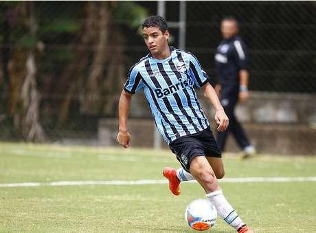 Felipe Ferreira foi um dos destaques do Grêmio no Campeonato Gaúcho de Juniores em 2014