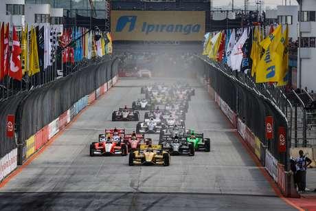 <p>Indy foi disputada nos últimos anos no Anhembi, em São Paulo</p>