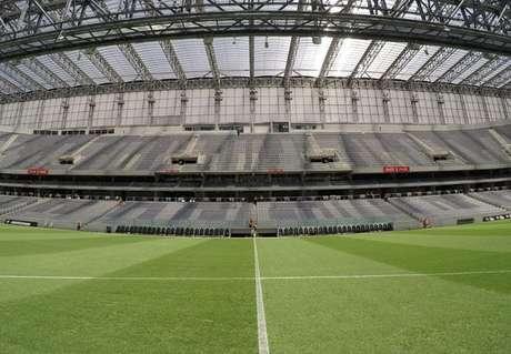 Em julho de 2011, custo da reforma na Arena era de R$ 184,6 milhões