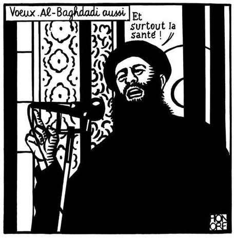 última charge do Facebook do Charlie Hebdo