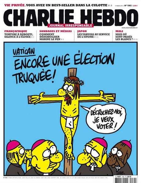 Jornal polêmico: relembre as charges do Charlie Hebdo