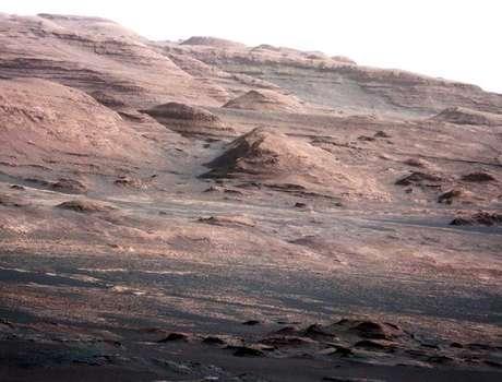 <p>Meta final da agência éde pousar astronautas em Marte</p>