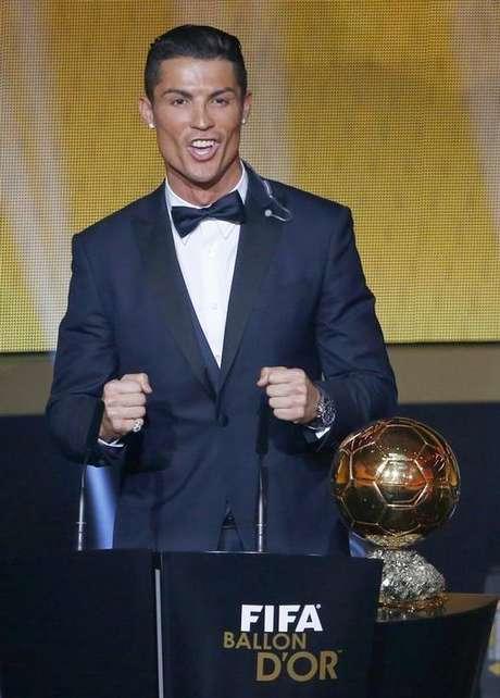 <p>Cristiano Ronaldo já foi eleito o melhor jogador do mundo em 2008, 2013 e 2014</p>