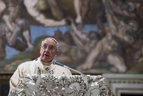 Papa discursou nesta segunda-feira e falou sobre diversos temas mundiais