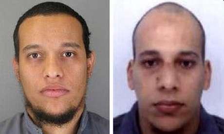 Os irmãos Kouachi, autores do atentado contra a redação da revista francesa Charlie Hebdo