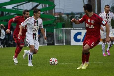 <p>Conca jogou, mas não ajudou o Flu a vencer o Bayer Leverkusen</p>