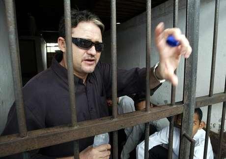 <p>Marco Archer Cardoso Moreira, em foto de arquivo quando estava preso na Indonésia</p>