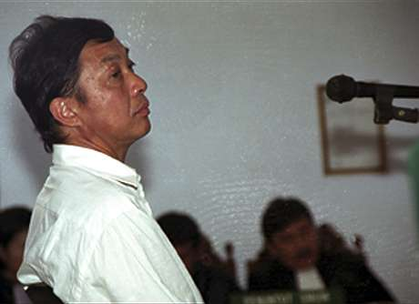 O holandês Ang Kiem Soei, que, assim como o brasileiro Marco Archer Moreira, foi fuzilado na Indonésia, em foto de 2003