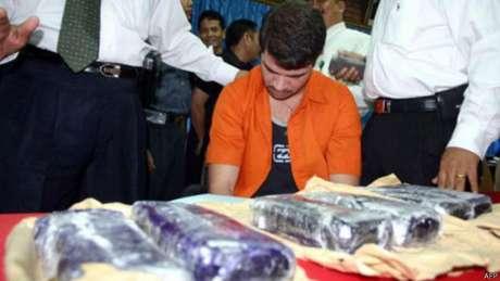 Rodrigo Gularte foi preso em 2004 e, desde então, desenvolveu problemas mentais, segundo a família