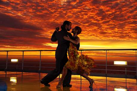 Cruzeiros de dança ocorrem em fevereiro e abril deste ano
