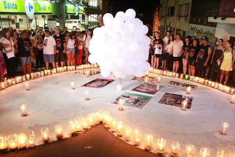 <p>Parentes e amigos lembraram o 2º ano da tragédia em janeiro</p>