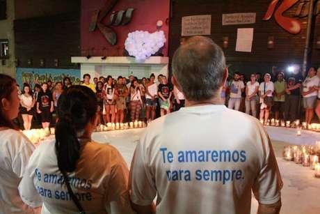 Vítimas foram lembradas na madrugada desta terça, aniversário de 2 anos da tragédia