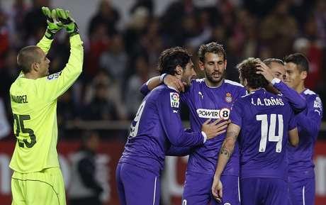 <p>Espanyol vai pegar o Athletic Bilbao por uma vaga na final</p>