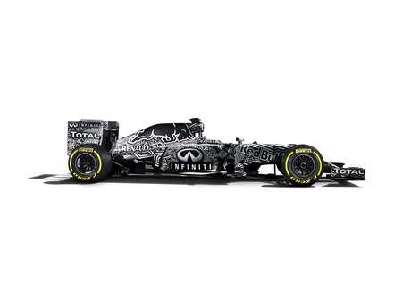 Red Bull apresenta carro estilo camuflado