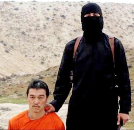 <p>Kenji Goto foi assassinado pelo grupo terrorista EI</p>