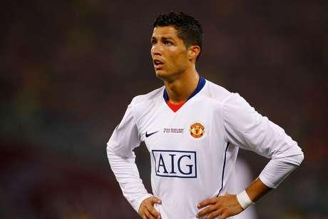 Cristiano Ronaldo fez um excelente 2008 no Manchester United