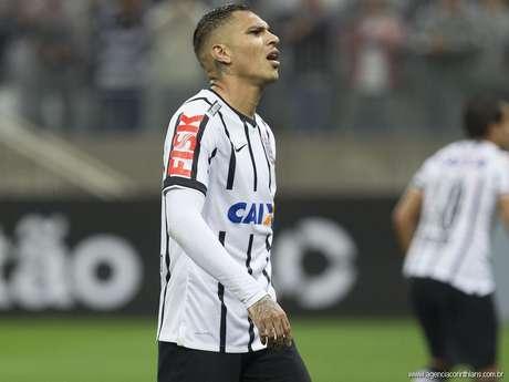 <p>Paolo Guerrero disse que Corinthians está pronto para jogar fora de casa</p>