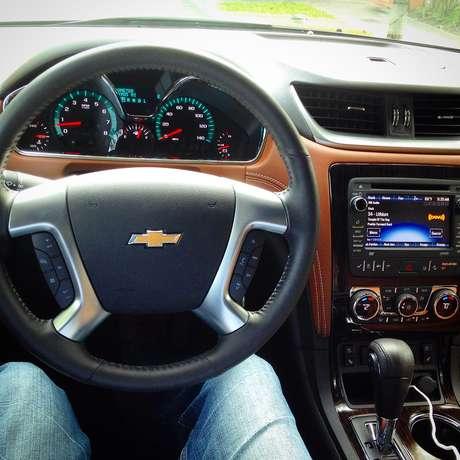 Prueba Test Chevrolet Traverse 2015