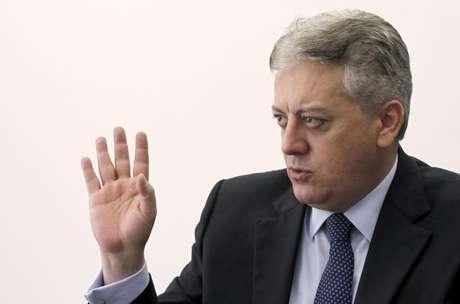<p>Aldemir Bendine foi eleito para a presidência da Petrobras</p>