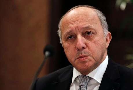 """<p>""""O apoio da França às forças integradas africanas é total"""", disseLaurent Fabius</p>"""