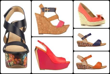 Zapatos y sandalias colores y estilos de moda primavera verano 2015 - Zapatos collage ...