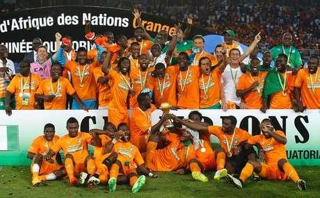 <p>Costa do Marfim foi campe&atilde;&nbsp;da Copa das Na&ccedil;&otilde;es Africanas</p>