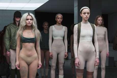 Kanye West apresentou sua coleção no primeiro dia da semana de moda de Nova York