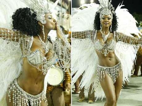 <p>Cris Vianna mostrou que está em forma para o Carnaval</p>