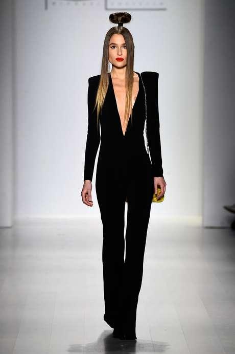Desfile de Michael Costello na semana de moda de Nova York