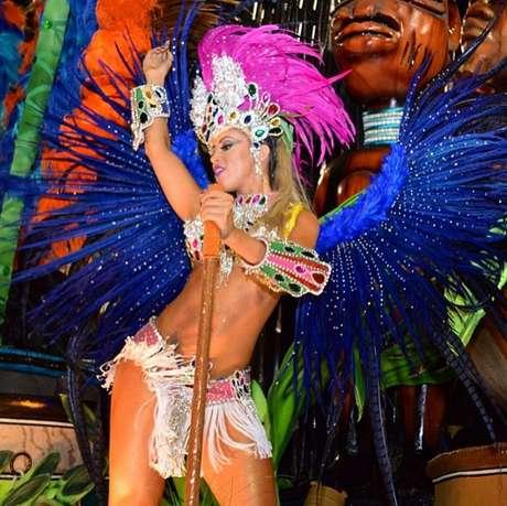 <p>Enredo da Beija-Flor homenageou a Guiné Equatorial</p>