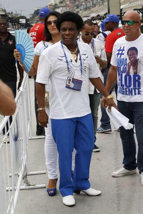 <p>Neguinho da Beija-Flor disse que não recebeu R$10 milhões do governo da Guiné Equatorial, como foi divulgado</p>