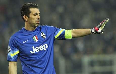 Buffon é o goleiro titular da Juventus