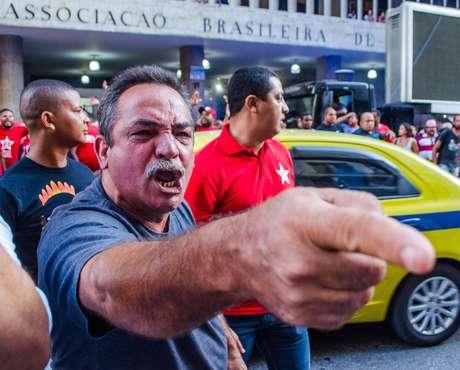 Grupos entraram em confronto em ato pela Petrobras