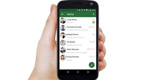 """<p>""""Zapzap"""" também é o apelido informal pelo qual milhares de brasileiros conhecem o original WhatsApp - criador do app brasileiro transformou o apelido em marca registrada """"aproveitando a oportunidade""""</p>"""