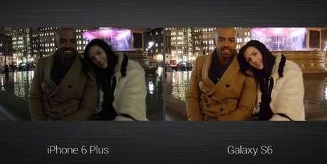 <p>Comparação da câmera do Galaxy S6 com o iPhone 6</p>