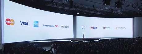 <p>Os bancos e operadoras de cartão que fizeram parceria com Samsung Pay</p>