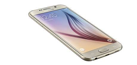 <p>Galaxy S6 na cor pérola</p>