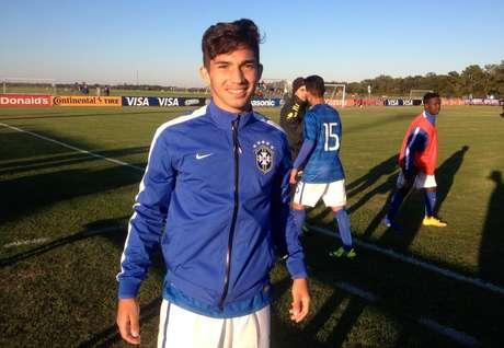 <p>Seleção Sub-17, dovolante vascaíno Andrey, é decacampeã sul-americana</p>