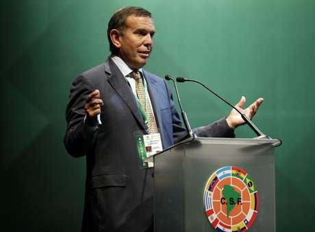 Juan Ángel Napout disse que vai trabalhar para manter vaga sul-americana